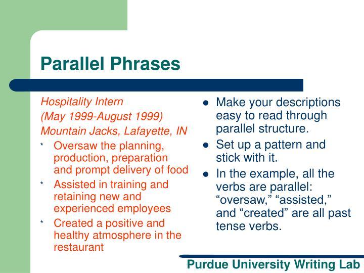 ppt - resume workshop powerpoint presentation
