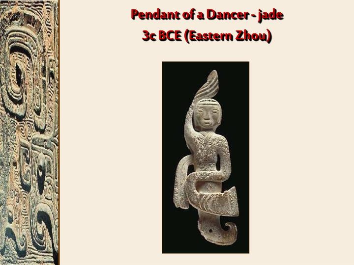 Pendant of a Dancer - jade