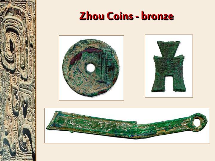 Zhou Coins - bronze