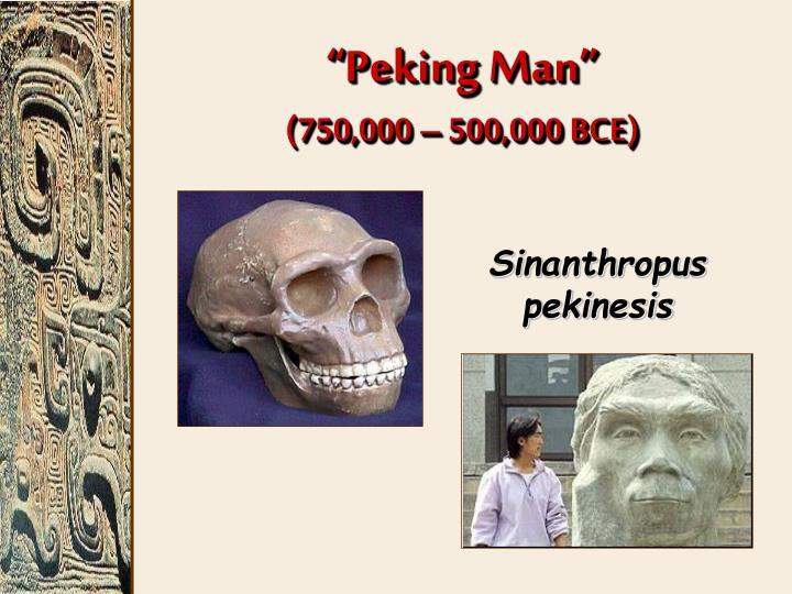 """""""Peking Man"""""""