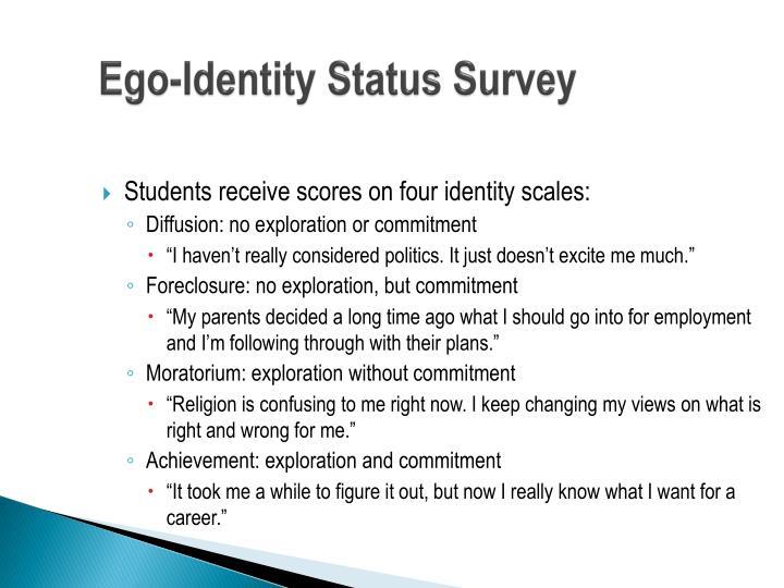 Ego-Identity Status Survey
