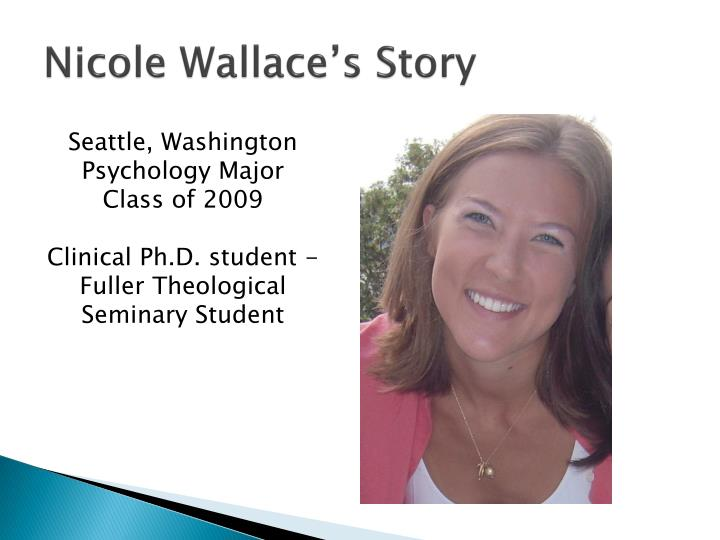 Nicole Wallace's Story