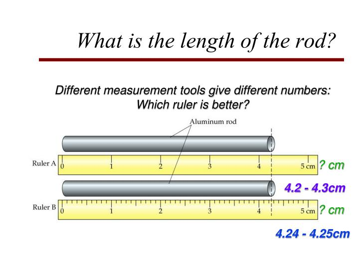 What is the length of the rod?