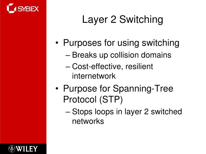 Layer 2 switching