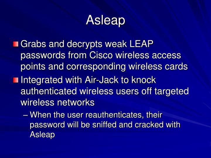 Asleap