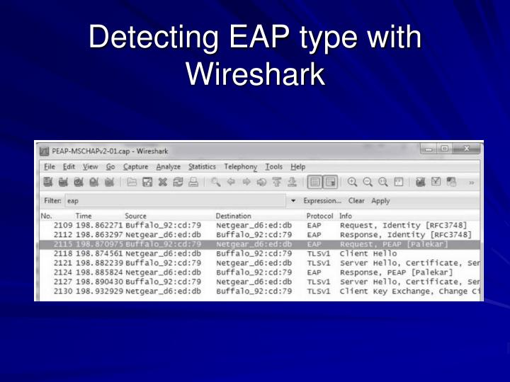 Detecting EAP type with Wireshark