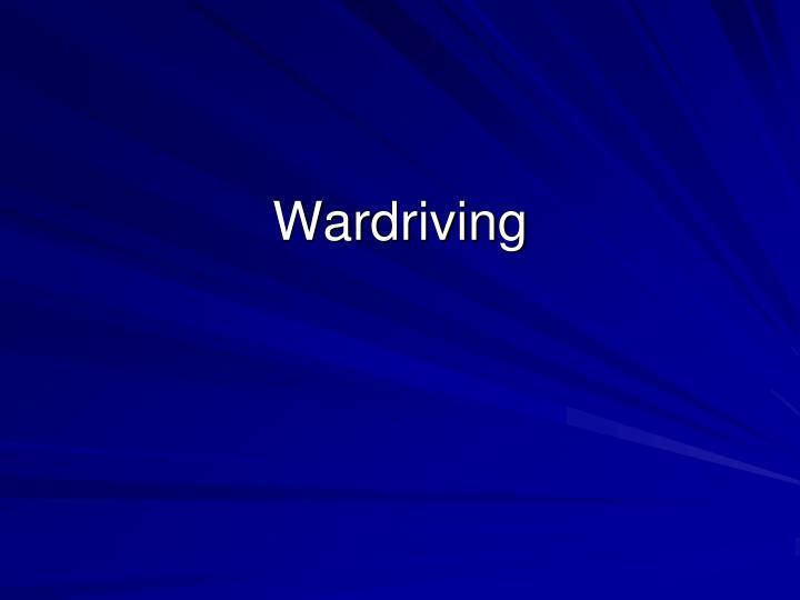 Wardriving
