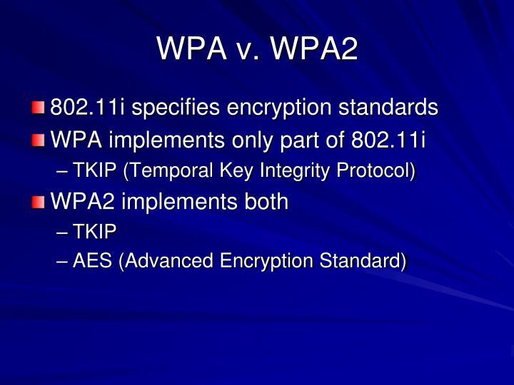 WPA v. WPA2