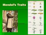 mendel s traits