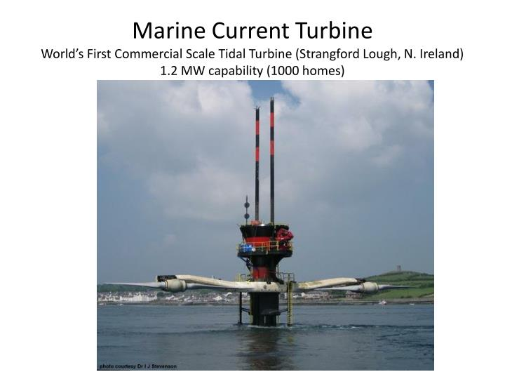Marine Current Turbine