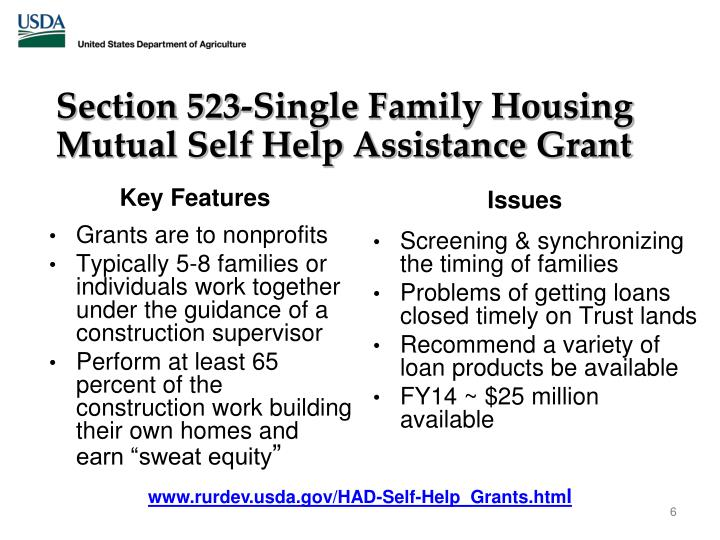 Section 523-Single Family Housing