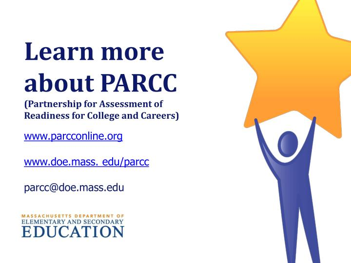 Learn more about PARCC