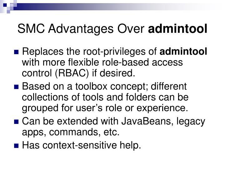 SMC Advantages Over