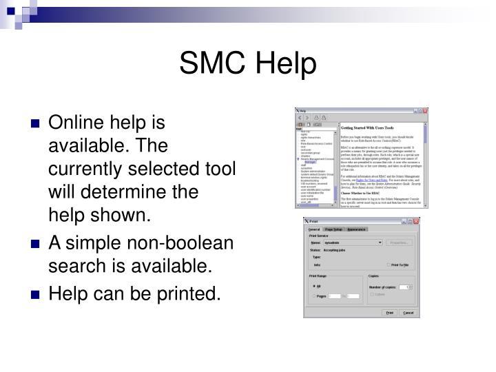 SMC Help