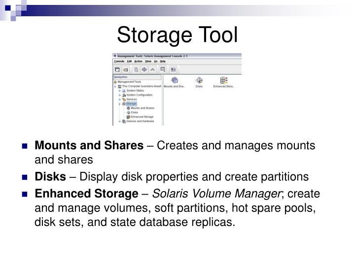 Storage Tool