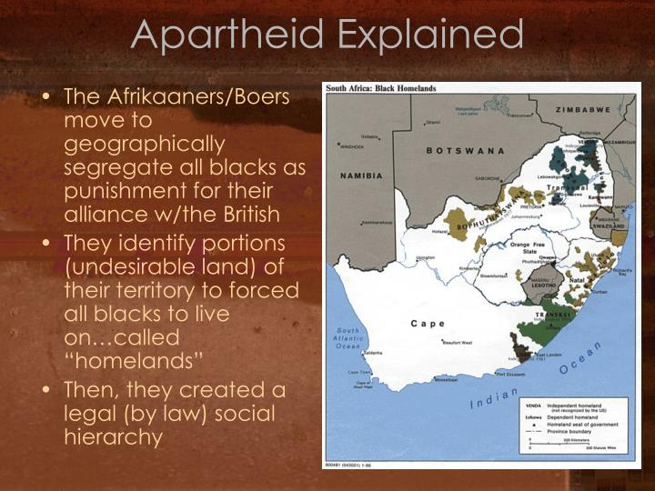 Apartheid Explained