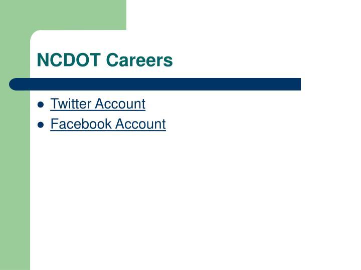 NCDOT Careers