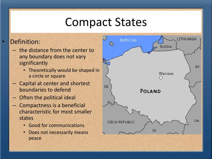 Compact States
