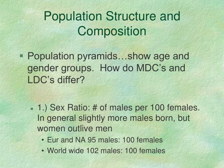 Population Structure and Composition