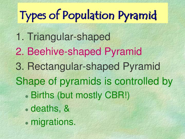 Types of Population Pyramid