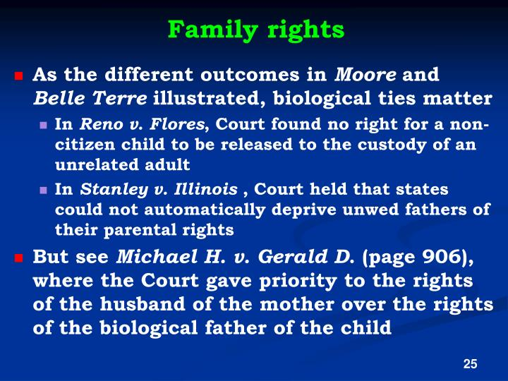 Family rights