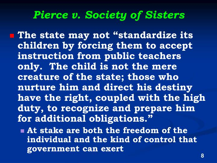 Pierce v. Society of Sisters
