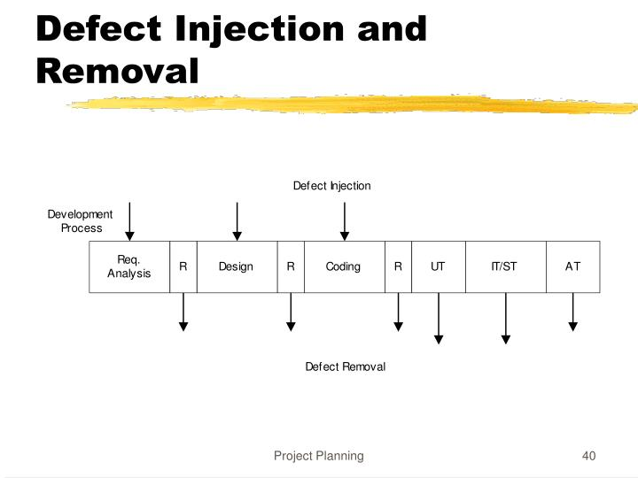Defect Injection and Removal