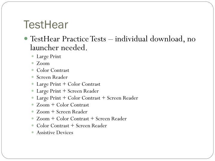 TestHear