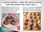 is giving students a rubric the same as giving them the answer no here s why
