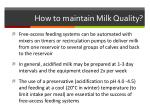 how to maintain milk quality4