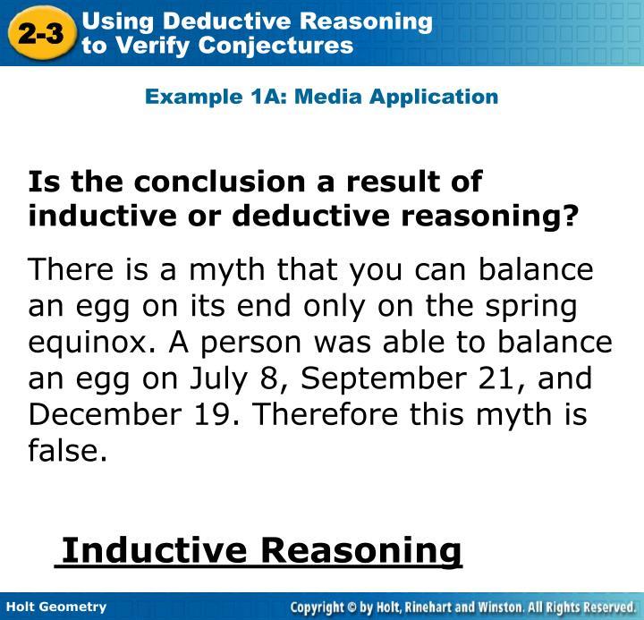 Example 1A: Media Application