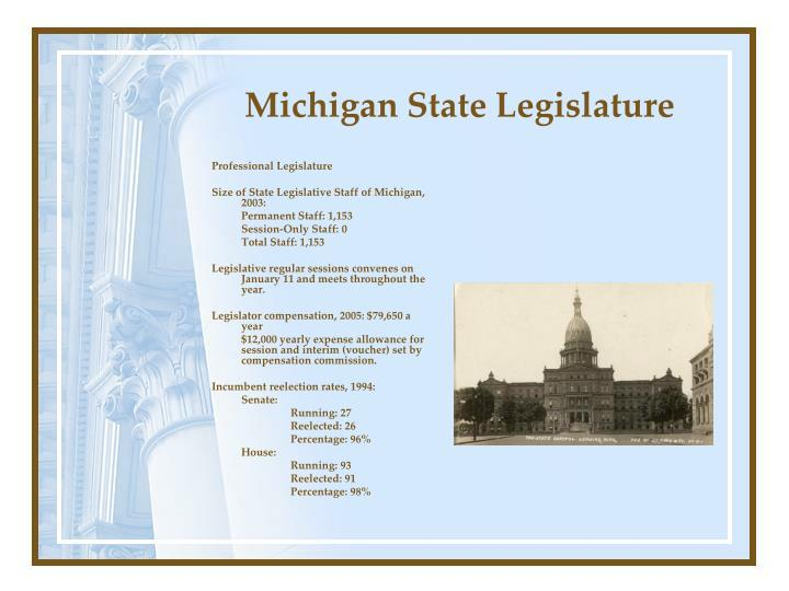 Michigan state legislature