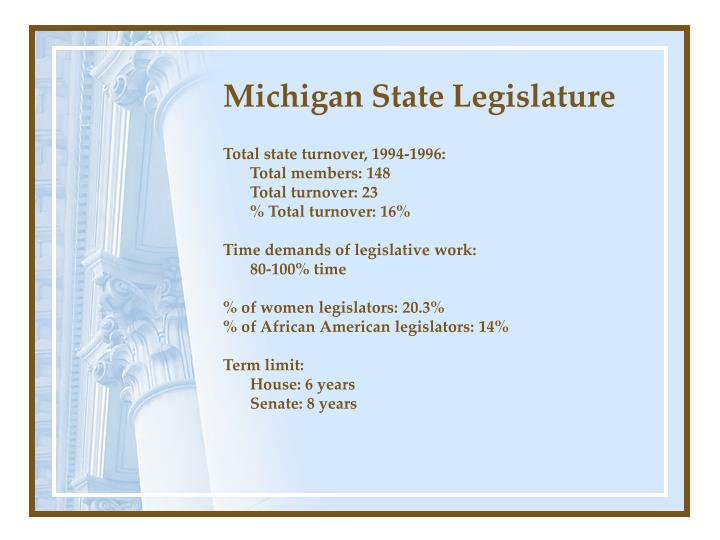 Michigan state legislature1
