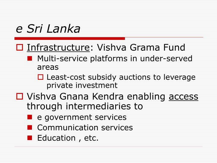 e Sri Lanka