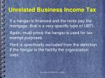 unrelated business income tax1