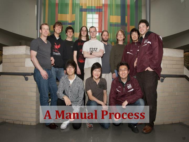 A Manual Process