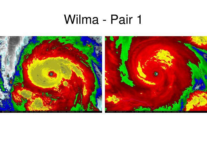 Wilma - Pair 1