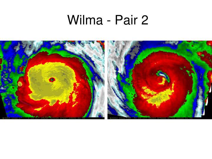Wilma - Pair 2