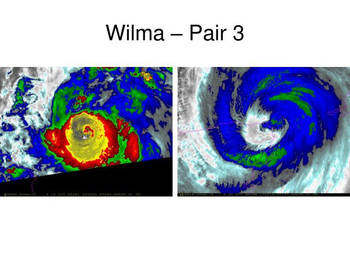 Wilma – Pair 3