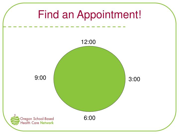 Find an Appointment!