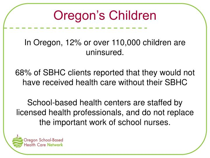 Oregon's Children
