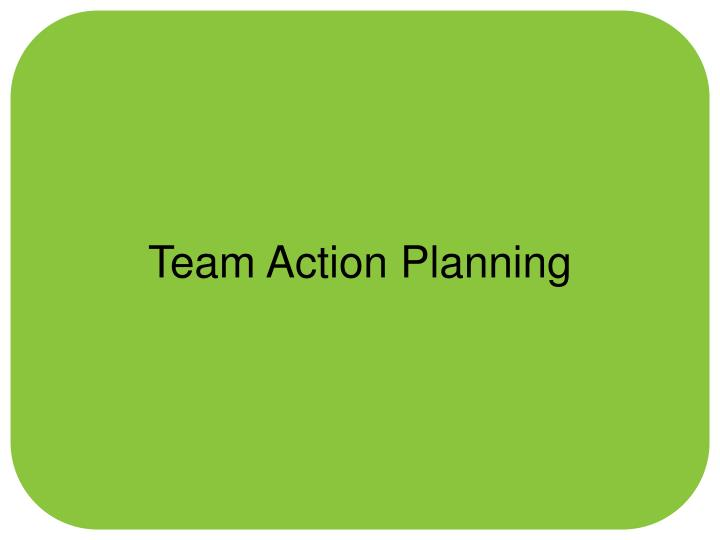 Team Action Planning