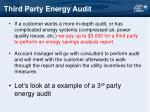 third party energy audit