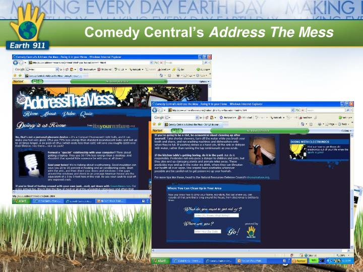 Comedy Central's