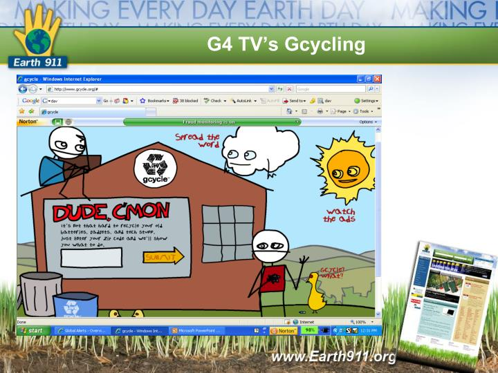 G4 TV's Gcycling