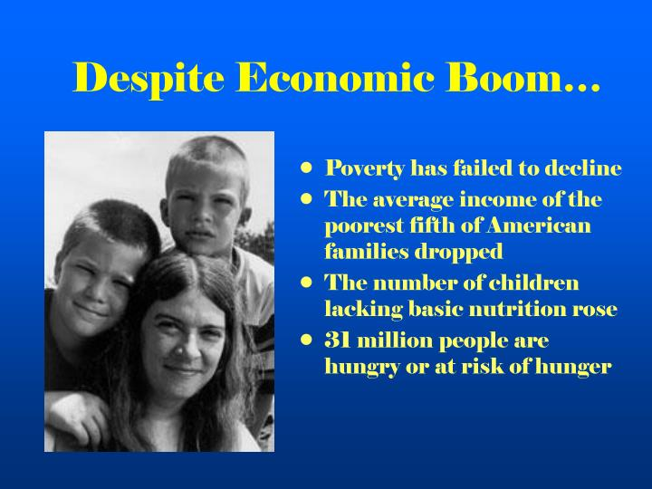 Despite Economic Boom…