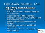 high quality indicators la 44