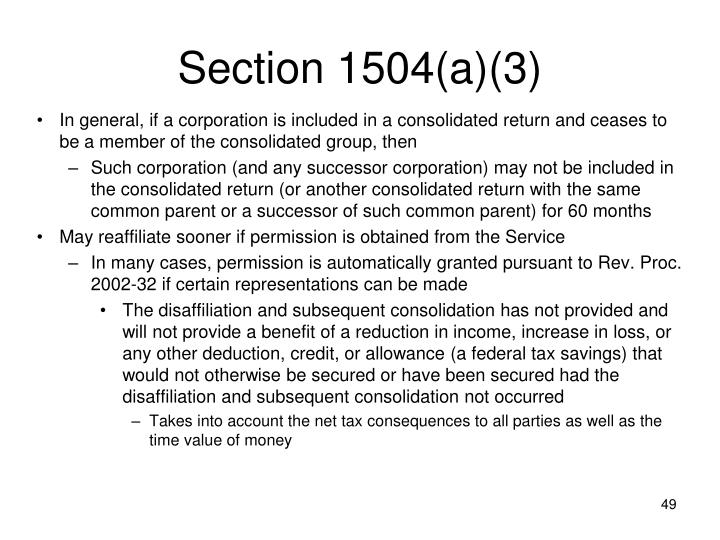 Section 1504(a)(3)