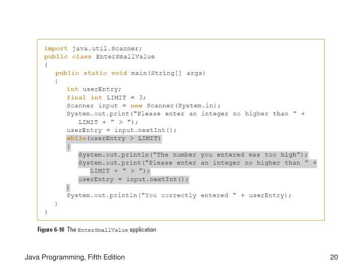 Java Programming, Fifth Edition