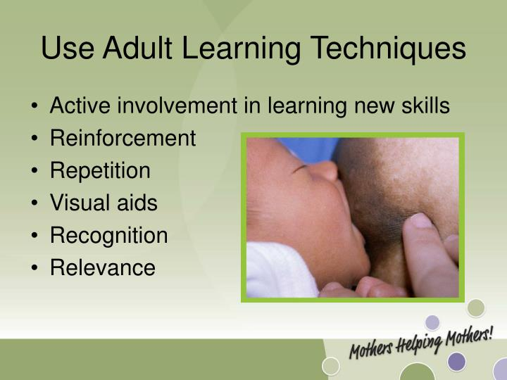 That Adult learning technique not